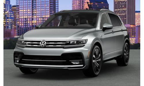 2020 Volkswagen Tiguan Pyrite Silver Metallic