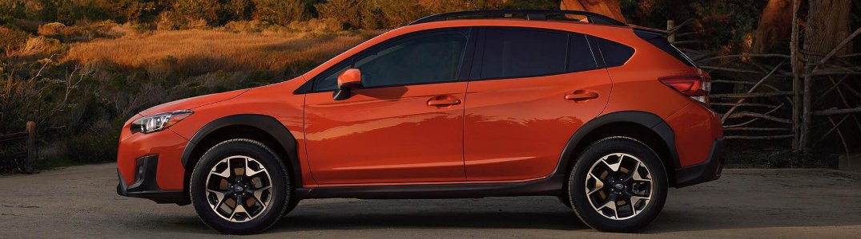 2020 Subaru Crosstrek parked in a rural lot
