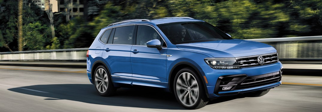 List of 2020 Volkswagen Tiguan Exterior Paint Options