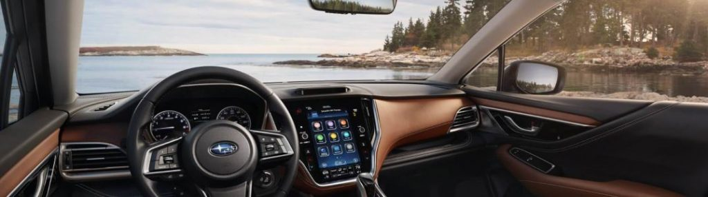2020 Subaru Outback dashboard