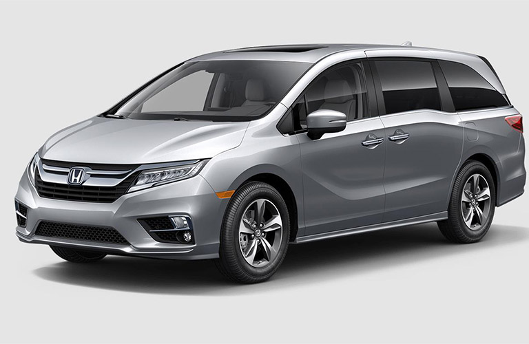 Silver Colored 2018 Honda Odyssey Touring