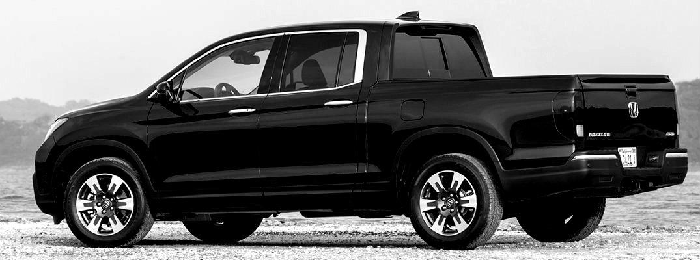 Black and white image of 2019 Honda Ridgeline