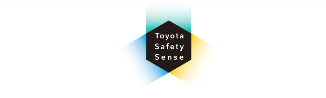 a picture that says Toyota Safety Sense