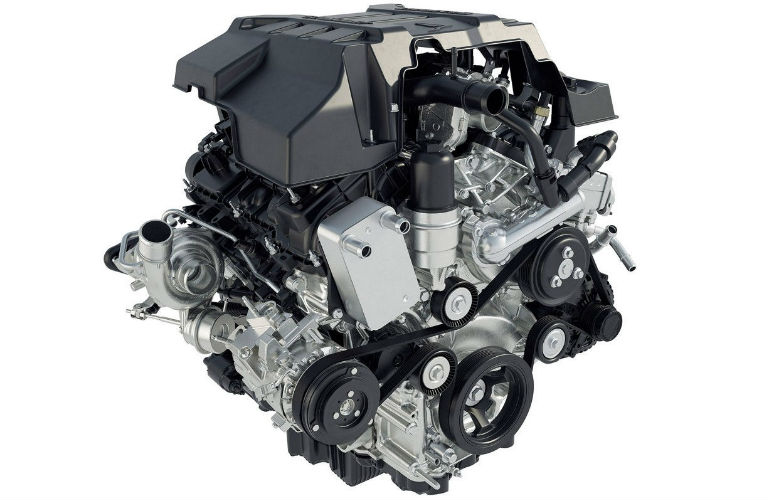 2018 Ford F-150 2.7-liter EcoBoost engine