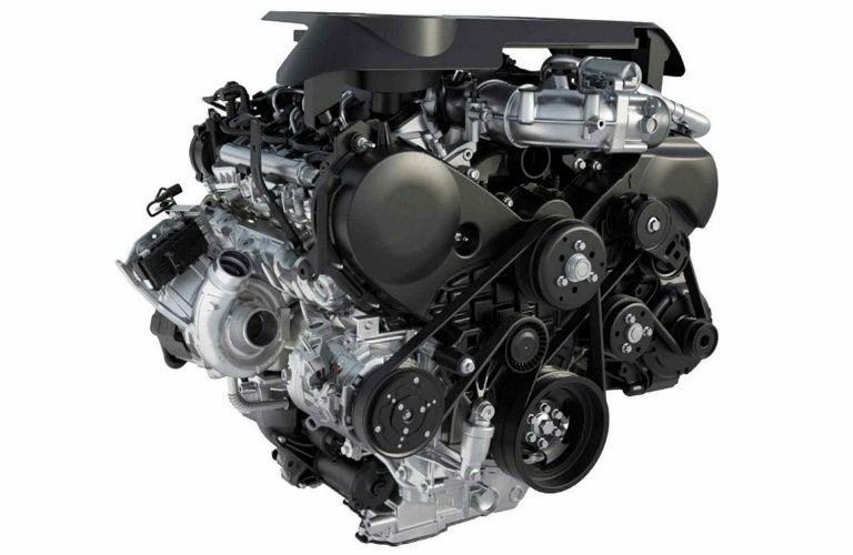 2018 Ford F-150 3.0-liter Turbo Diesel engine