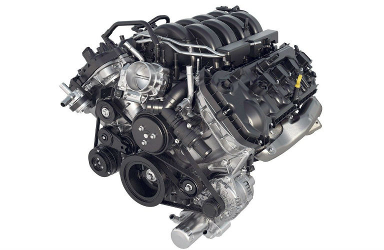 2018 Ford F-150 5.0-liter V8 engine