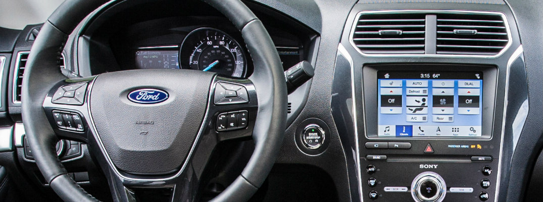 How Do I Use the Ford SYNC3 Infotainment System?