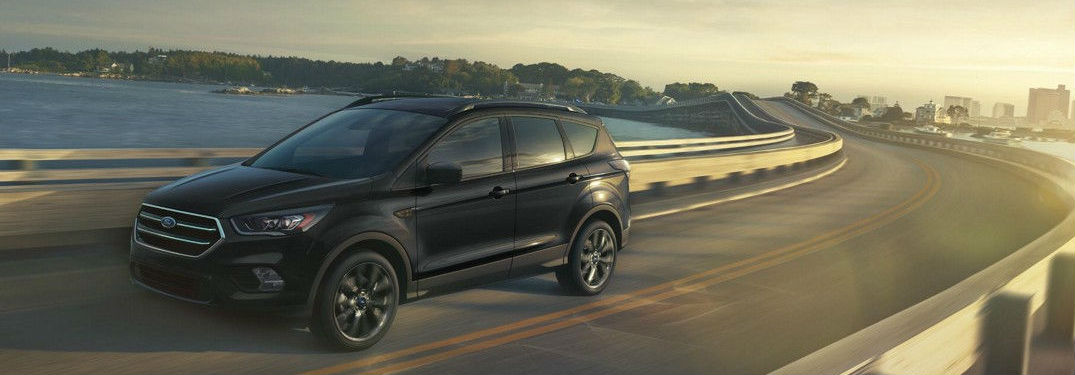2019 Ford Escape driving on a road