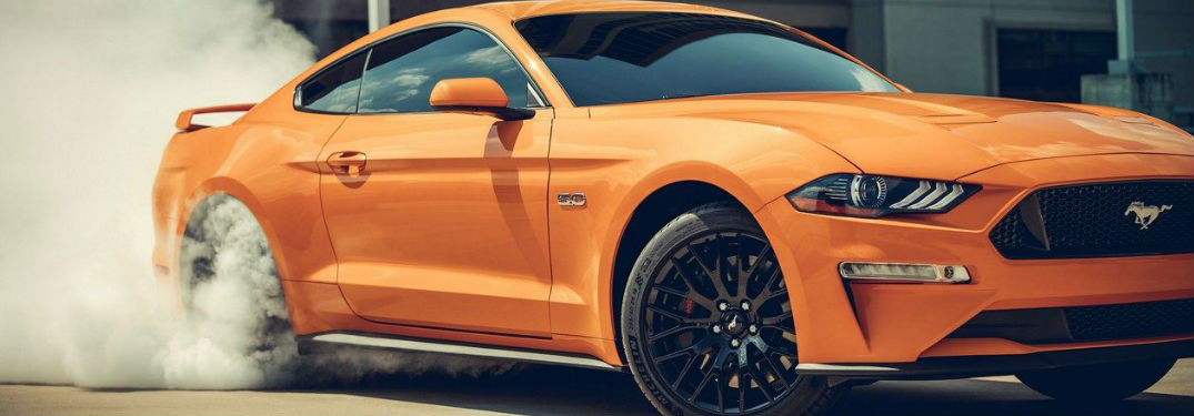 2019 Ford Mustang side profile