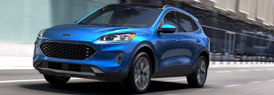 Trim Level Options on 2020 Ford Escape