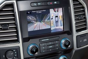 360-degree camera on 2020 Ford F-150