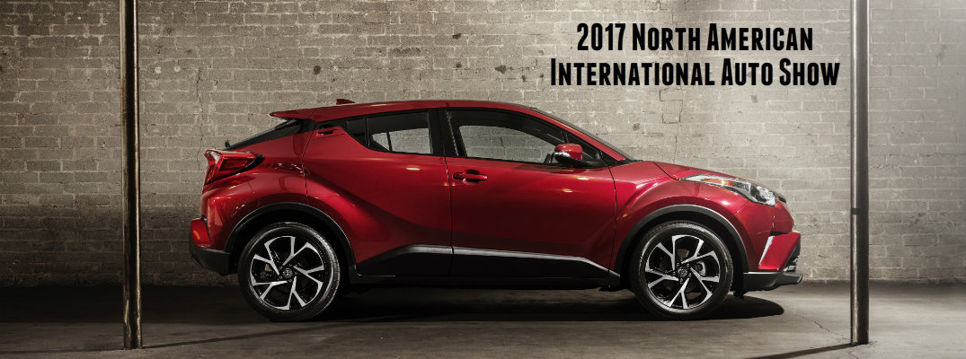 2017 North American International Auto Show Toyota