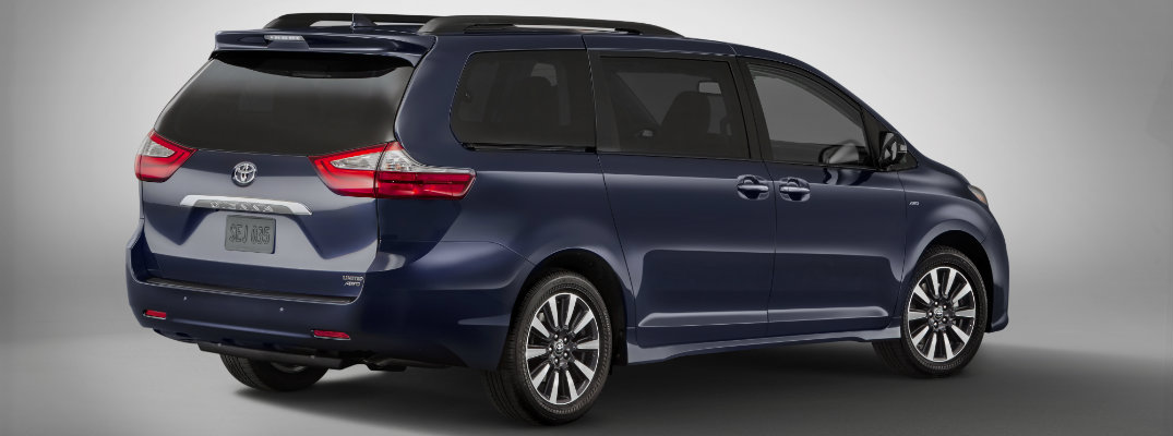 What's new for the 2018 Toyota Sienna?