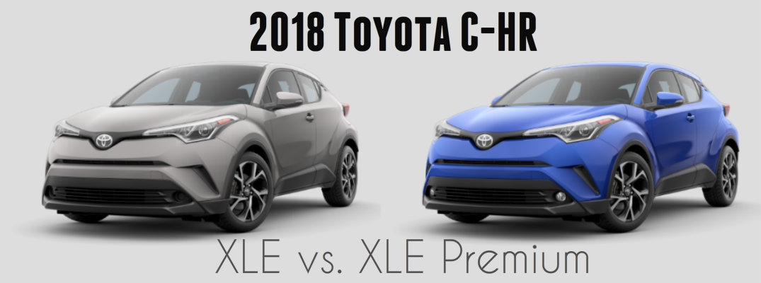 2018 Toyota C-HR Model Comparison