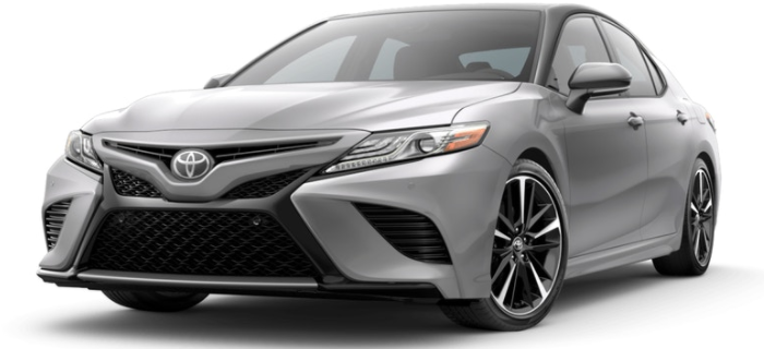 Celestial Silver Metallic Camry with Black