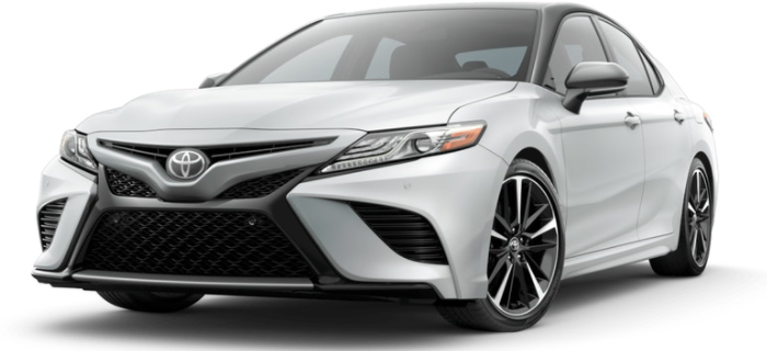 Wind Chill Pearl Camry with Black