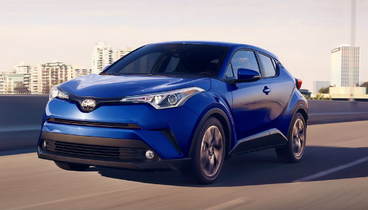 2018 Toyota C-HR engine specs and performance