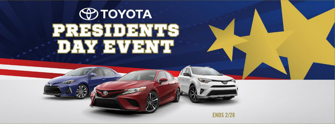 President's Day Sales on Toyota Vehicles in Palo Alto CA