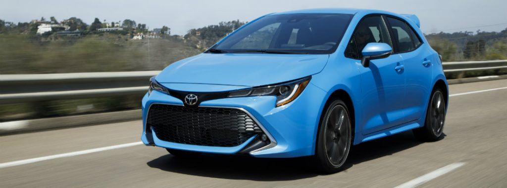 2019 Toyota Corolla Hatchback Performance Features And