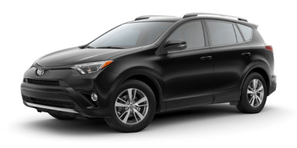 2018 Toyota RAV4 in Black
