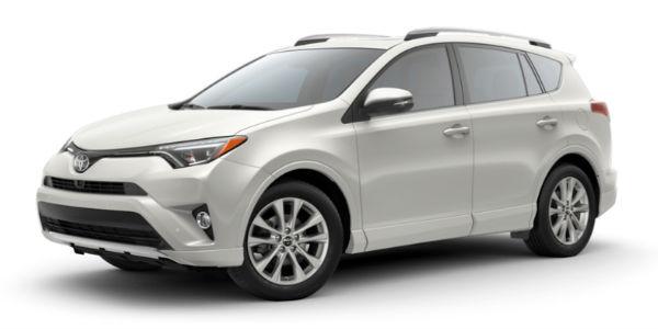 2018 Toyota RAV4 in Blizzard Pearl