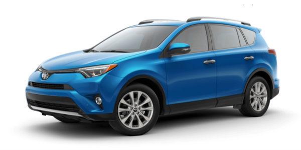 2018 Toyota RAV4 Electric Storm Blue