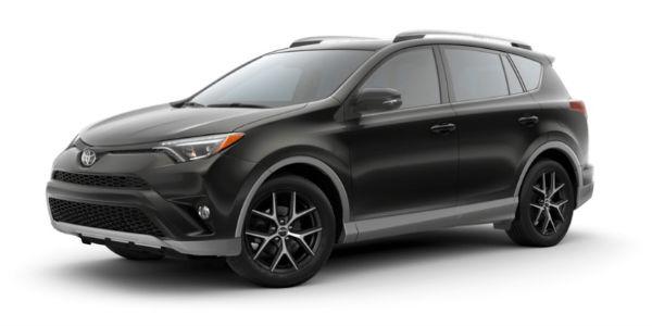 2018 Toyota RAV4 in S-Code Black