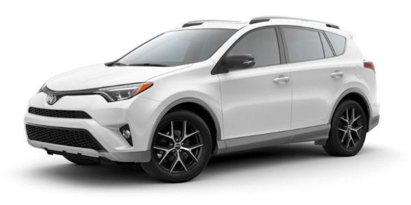 2018 Toyota RAV4 in S-Code Super White