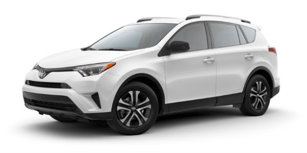 2018 Toyota RAV4 in Super White