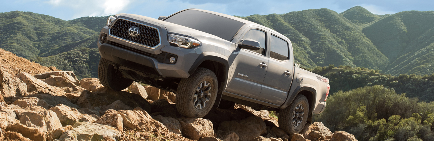 2019 Toyota Tacoma on rocky mountain