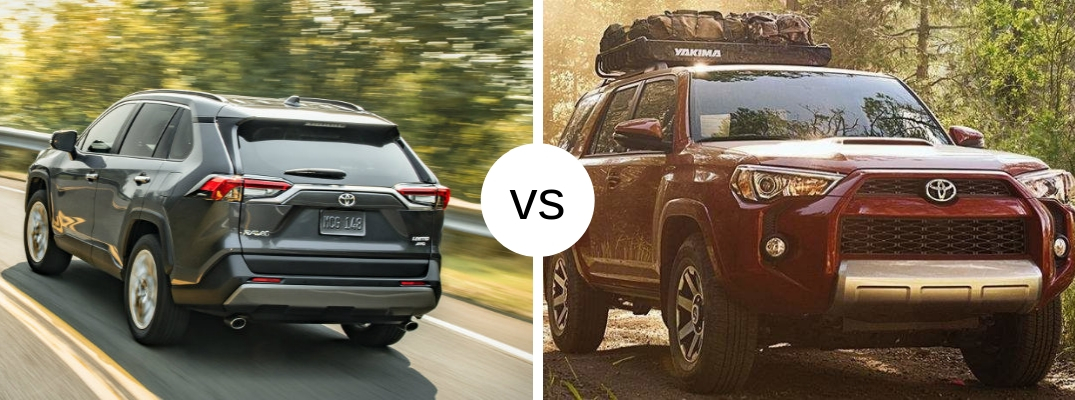 Should you buy the 2019 Toyota RAV4 or 4Runner?