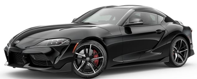 2020 Toyota Supra in Nocturnal Black