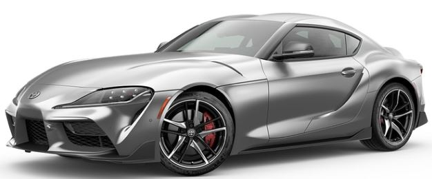 2020 Toyota Supra in Phantom Matte Gray