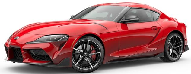 2020 Toyota Supra in Renaissance Red 2.0