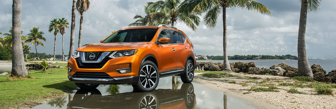 ... 2018 Nissan Rogue Exterior Profile