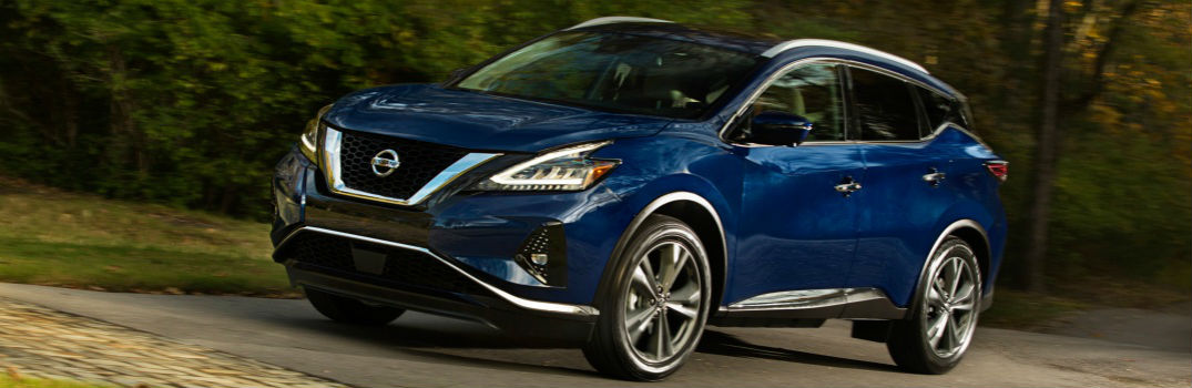 2019 Nissan Murano on the road