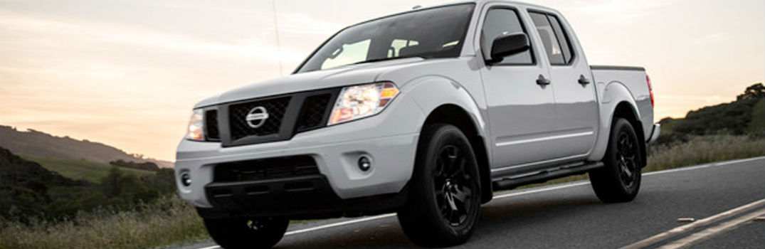 2019 Nissan Frontier on the road