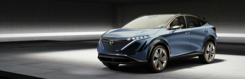 2020 Nissan Ariya exterior profile