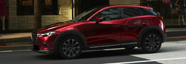 2019 Mazda CX-3 exterior red