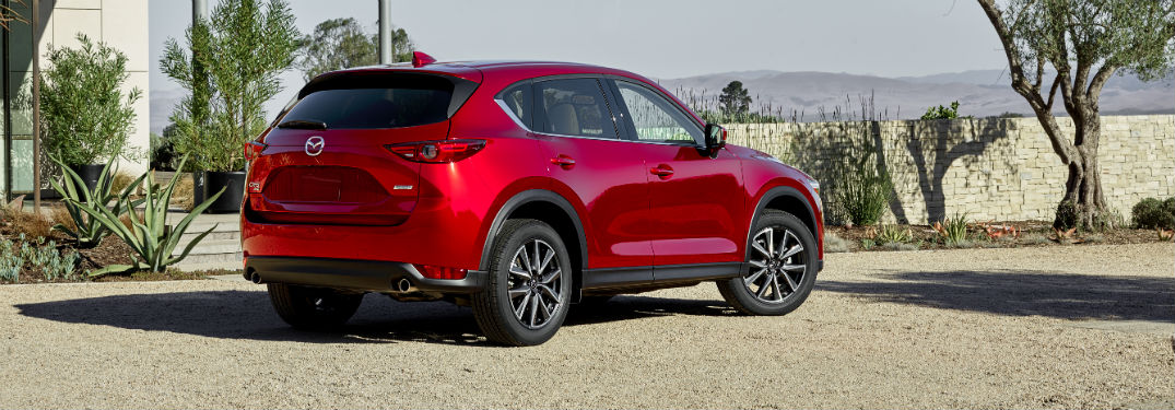 How Many Color Options Does the 2018 Mazda CX-5 Offer?
