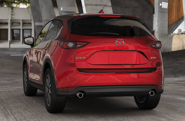2018 MAZDA CX-5 REAR VIEW PARKED