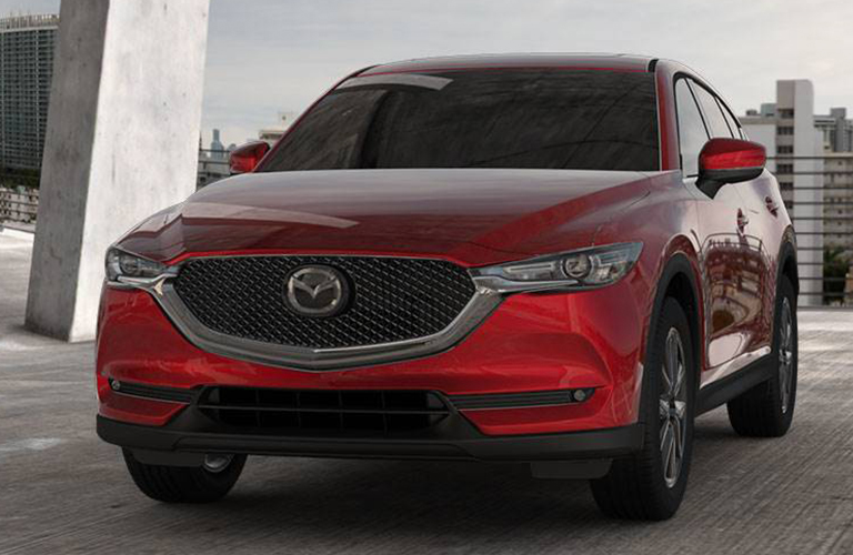 2018 mazda cx-5 front view parked