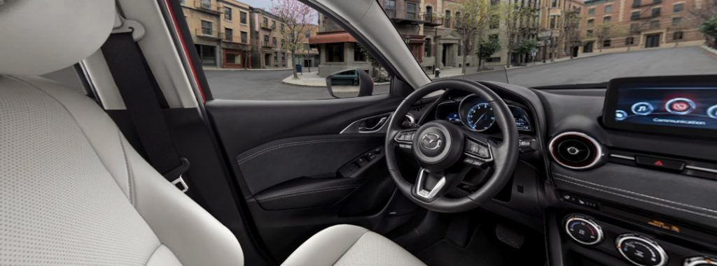 ... Interior Of The 2019 Mazda Cx 3