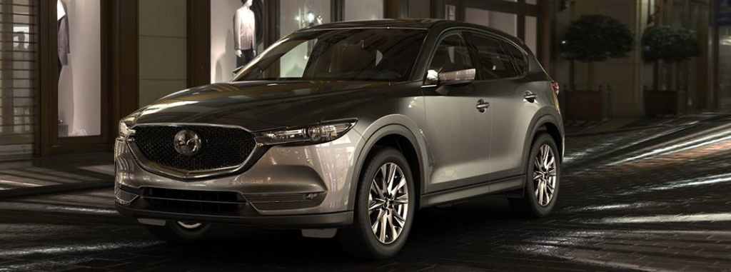What are the available colors options for the 2019 Mazda CX-5?