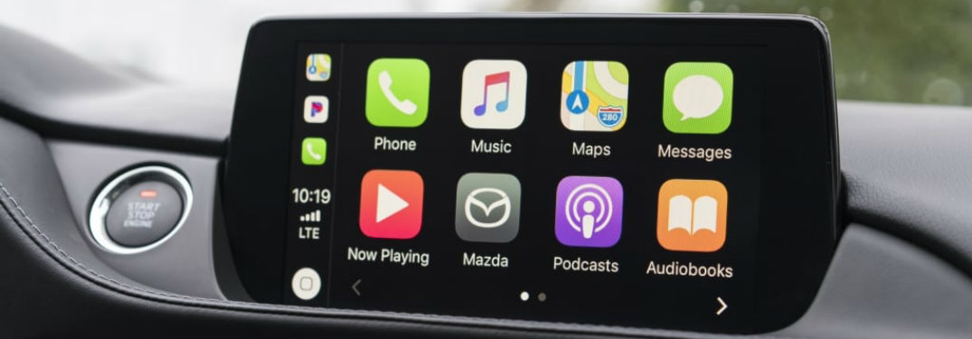 Does the 2019 Mazda6 come with Apple CarPlay?