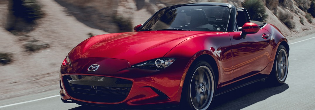 Exterior Colors Available for the 2019 Mazda MX-5 Miata