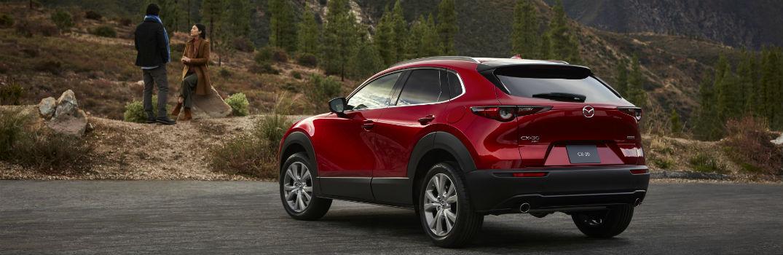 2020 Mazda CX-30 Exterior Driver Side Rear Profile