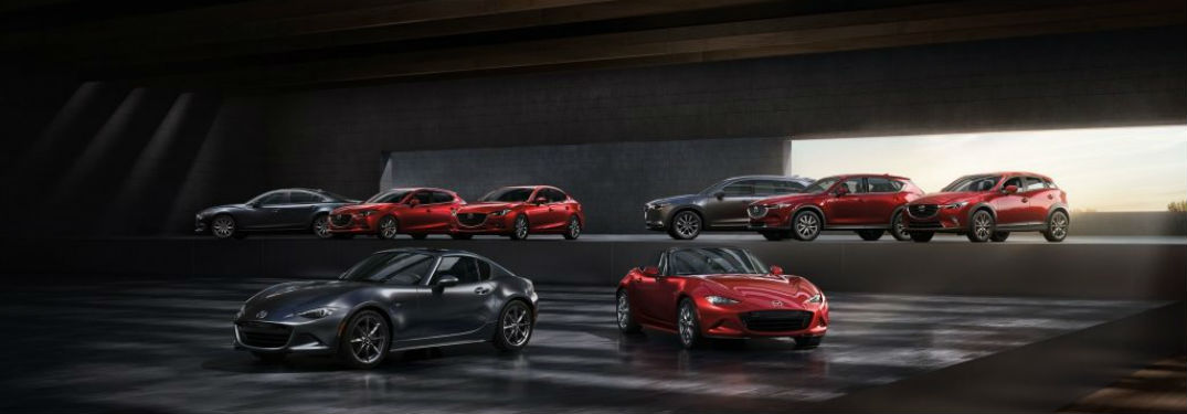 Mazda lineup of all models