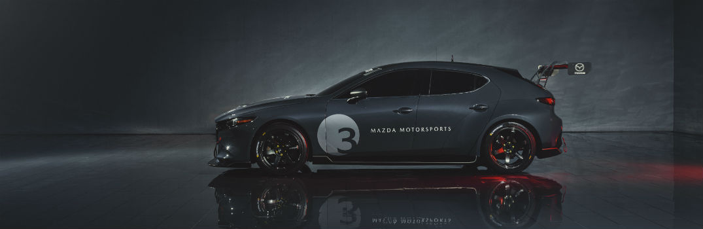 2020 Mazda3 TCR Exterior Driver Side Profile