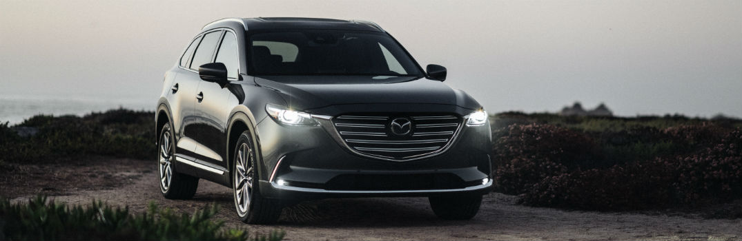 2020 Mazda CX-9 Exterior Passenger Side Front Angle